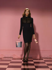 AGENT PROVOCATEUR BLACK  THEODORA DRESS SIZE SMALL/ AP 2 / UK 8 -10 RRP £625