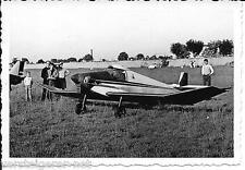 Originalfoto Sportflugzeug Flugzeug auf Flugplatz