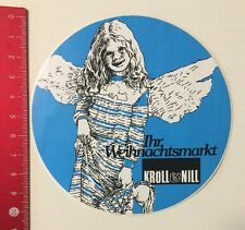 Aufkleber/Sticker: Kröll & Nill - Ihr Weihnachtsmarkt (02061620)