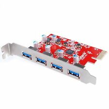 Inateck Mac Pro Interface 4 Ports Video PCI-E to USB 3.0 Expansion Express Card