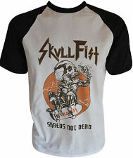 SKULL FIST Shreds Not Dead Baseball-T-Shirt L / Large (u401) 162491