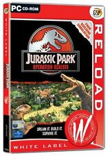 JURASSIC PARK OPERATION Genesi PC Nuovo e Sigillato, Super Rara