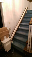 double stair lift by stannah