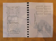 Rover 10,GS,FFR.Rover 11,GS,FFR.1/4 and 1/2 ton.12 and 24 volt.User handbook.