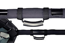 1976-2015 Jeep Wrangler & CJ Deluxe Padded Roll Cage Mount Grab Handles Pair