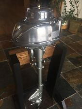 Vintage Johnson MD-38 Helmet Head Antique Outboard boat motor MAKE OFFER