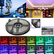 Tira Luz 5M RGB 5050 SMD 300 LED 12V Non waterproof Flexible for 44 Key IR Mando