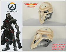 Game Overwatch Reaper Helmet White Cosplay Mask PVC Material 1:1 Mens