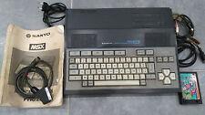 MSX MSX SANYO PHC 28 L PHC28L OLD COMPUTER ORDINATEUR VINTAGE 100% OK + 1 JEU