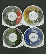 Lot Of 3 PSP Games & 1 Movie Pursuit Force Twisted Metal Need For Speed More