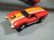 ThunderJet Ford J  Red #3 T -JET 500 HO SLOT CAR