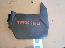 Honda TRX125 TRX 125 4 Four Trax 1985 right rear back fender mud flap flare
