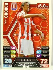 Match ATTAX 2013/14 Premier League - #270 Peter Crouch-Stoke City
