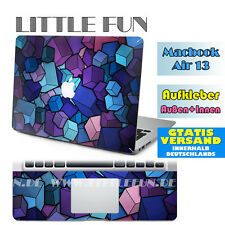 "Macbook Aufkleber Sticker Schutzfolie new Decal Skin für MacBook Air 13 "" Bunt"