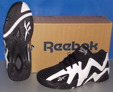 MENS REEBOK KAMIKAZE II LOW in colors BLACK/ WHITE SIZE 11