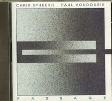 CHRIS SPHEERIS AND PAUL VOUDOURIS - PASSAGE - CD - NEW