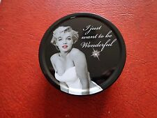 Marilyn Monroe Collectable Candy Tin. With A Diamante On The Lid