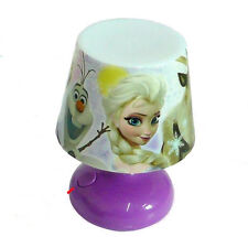 Night Lights Table Lamp Desk USB Xmas Toy Gift Kids Xmas Doll Game,Disney frozen
