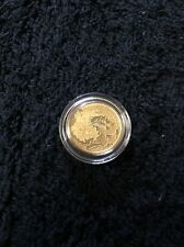 2012 Year Of The Dragon Gold Coin 1/10oz