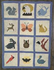 *Wild & Free Afghan crochet PATTERN INSTRUCTIONS