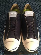 NIB CONVERSE JACK PURCELL LEATHER JP JACK OX MSRP $95 Mens US 8.5 NIKE LUNARLON