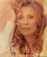 FAYE DUNAWAY Classic Actress AUTOGRAPH SIGNED AUTO ON 8X10 PUBLICITY PHOTO PIC