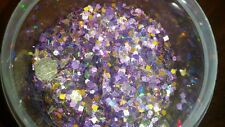 'Rapunzel' Glitter Mix plus free gift! * 1tsp * w/mica For Acrylic/Gel