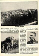 Galizien * Lemberg * Polnische Legion * FML.Kusmanek * Text-& Bilddokument 1914