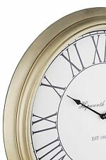 NEXT Extra Large Champagne Wall Clock Huge Statement 93cm Feature Wallclock  NEW