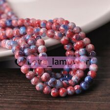 Wholesale Lot 6mm 8mm 10mm 12mm Colorful Round Crystal Glass Spacer Loose Beads