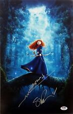 Mark Andrews Steve Purcell Signed Disney's Brave 12X18 Photo PSA DNA COA