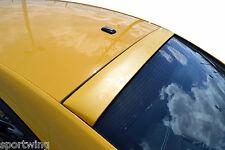 For: DODGE CHARGER; UNPAINTED Roof Spoiler Wing Trim 2011-2016
