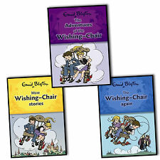 Enid Blyton Adventures Of the Wishing Chair 3 Children Books Collection Set New