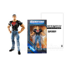 "6"" SUPERBOY figure DC SIGNATURE COLLECTION conner kent SUPERMAN UNIVERSE mattel"