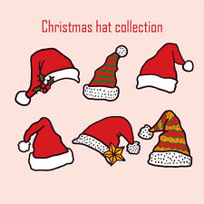 10pcs Christmas Sticker  Decal Vinyl Roll Car Skate Skateboard Laptop Luggage