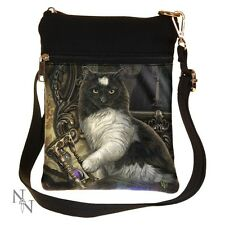 Borsa a tracolla TIMES UP Lisa Parker CAT Hour Glass piccola Nemesis Now Donna Nuovo