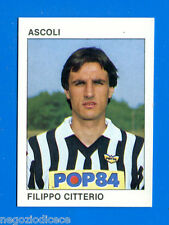 CALCIO FLASH '84 Lampo - Figurina-Sticker n. 4 - CITTERIO - ASCOLI -New