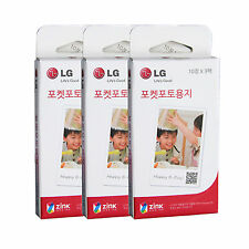 LG Pocket Photo 3 PoPo Zink 90 Sheets Paper for PD239 / PD221/ PD251