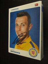 60331 Adam Matuschyk Eintr. Braunschweig 15-16 original signierte Autogrammkarte
