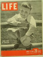 1949 Life Magazine: Spring Along the Mississippi/Willie Mosconi/Willie Hoppe
