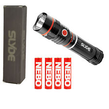 NEBO 6156 SLYDE 2-in-1 LED Flashlight / Work Light - 250 Lumens /  190 Lmns