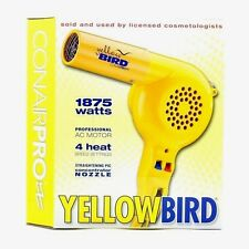 NEW!! Conair YB075W Yellowbird 1875-Watt Professional Hair Dryer