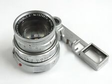 Summicron 5cm 1579874 Leitz Germany Vintage Leica Camera Lens w Eyes NR