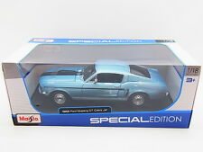 LOT 17166 | Maisto 31167 1968 Ford Mustang GT Cobra Jet Die-Cast 1:18 NEU in OVP
