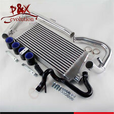 For 96-01 VW Passat Audi  A4 B5 1.8T Intercooler+Aluminum Pipe/piping Kit Black