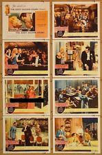 EDDY DUCHIN STORY, 1956, Tyrone Power, Kim Novak, U.S. 11 x 14 Lobby Card Set  *
