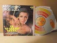 """Juan Gabriel Gonzalez """" El charrito negro """" Llorando por ella"""" LP VG+ SEXY COVER"""