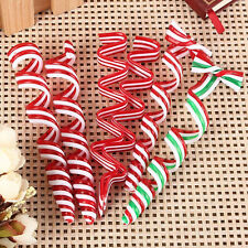 4x Christmas Tree Candy Decorations Decals Xmas Party Hanging Ornaments Randomly