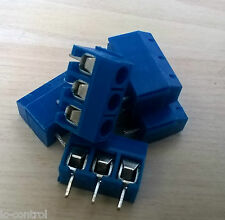 3pin Screw Terminal Block Connector 5.08mm PCB Mount (5pack)