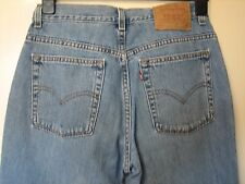 97 ) WOMENS LOVELY LEVIS 515 BOOTCUT  ZIP FLY JEANS  SIZE 10  LEG 30